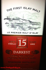 Bowmore 15 ans Darkest