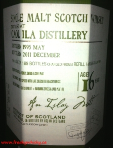 Caol Ila 16 and D&L