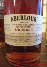 083 F CWM Aberlour Abunadh
