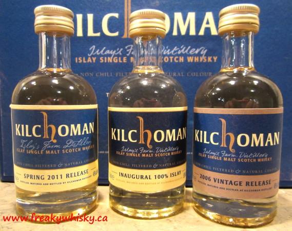 126 F Kilchoman minis