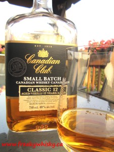133 F Canadian Club 12 ans SB