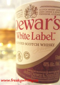 137 F Dewar's White Label