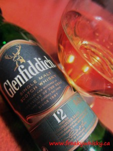 140 F Glenfiddich 12 ans