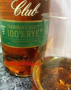 165 F Canadian Club 100% rye
