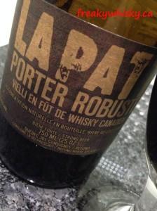 169 F LaPatt Porter futs de whisky