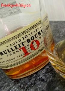170 F Bulleit Frontier Bourbon 10 ans